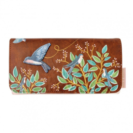Bird wallet secret garden