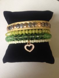 Arm candy yellow green