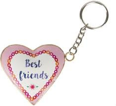 Best friends sleutelhanger