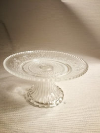 Cake plate on a stand