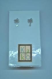 Palmboom zilverkleur