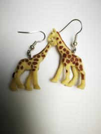 Giraf oorbellen