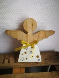 Engel beeldje hars