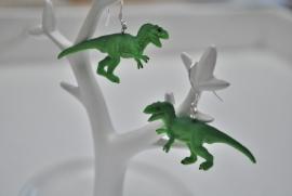 Dino oorbellen