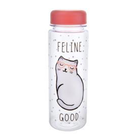 Waterfles kat Feline