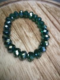 Emerald green armband