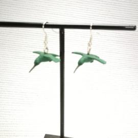 Kolibrie oorbellen