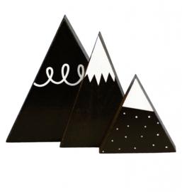 Black mountains deco