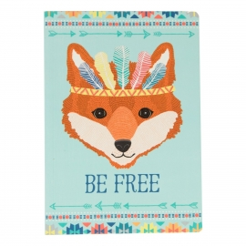 A 5 notebook be free animal adventure