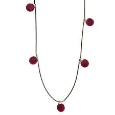 Red dots ketting