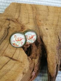 Flamingo oorstekers