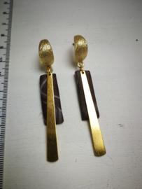 Staafjes in goud en bruin