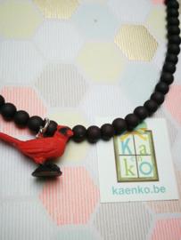 Rode vogel ketting
