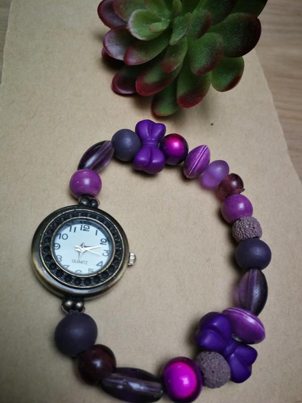 Horloge paars