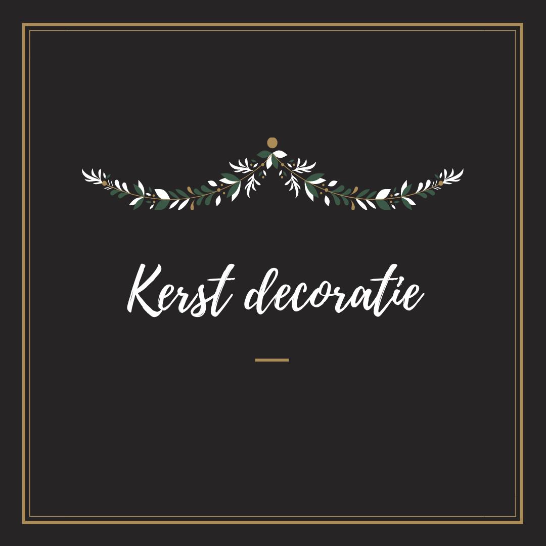 kerstdecoratie versiering