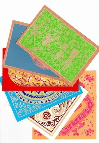 kaarten kennismakings set