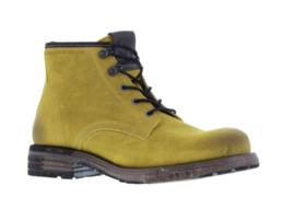 Yellow Cab Utah 9b  biker boot yellow