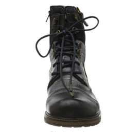 Yellow Cab heren boots Soldier Y18017 6D blue/black