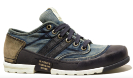Yellow Cab Mud stonewashed blue L