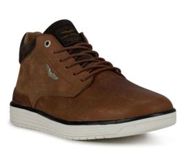 PME Legend - bruin leren Darren mid sneakers
