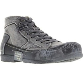 Yellow Cab halfhoge heren sneakers Mud301-a grey