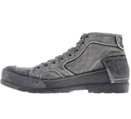 Yellow Cab halfhoge heren sneakers Mud301-a grey