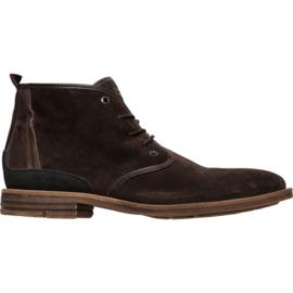 PME Legend - halfhoge espresso Daily boots