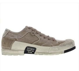 Yellow Cab lage heren sneakers beige Mud302-b