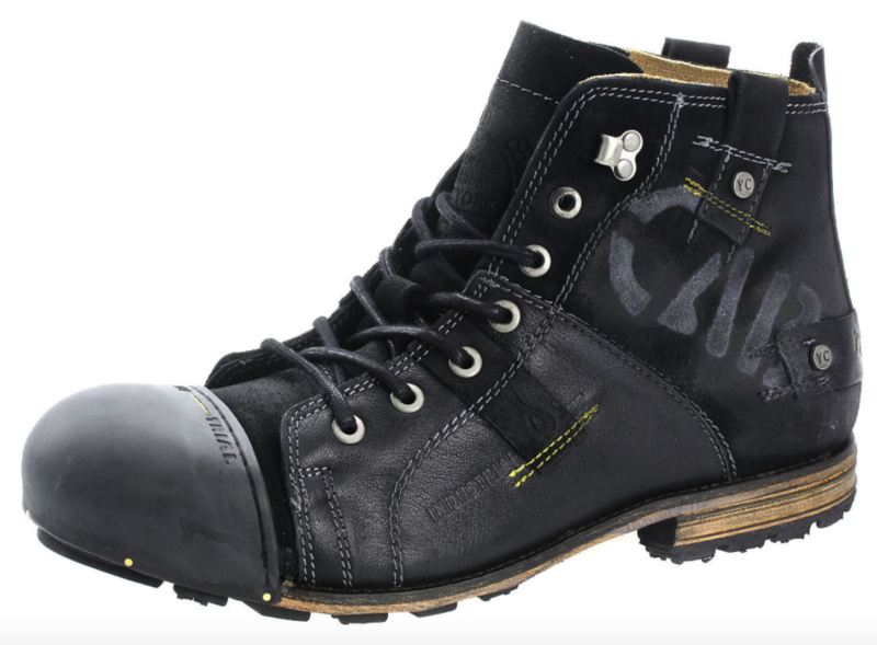 Yellow Cab Industrial Black