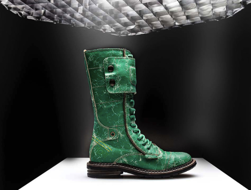 the latest 8248c 8a381 Yellow Cab Soldier limited green   DAMES WINTER 2018   Sanashoes
