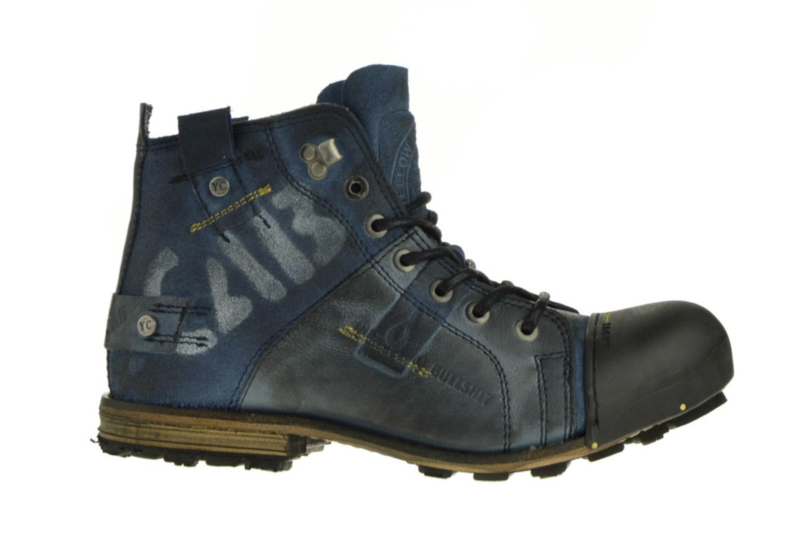 Yellow Cab Industrial blue