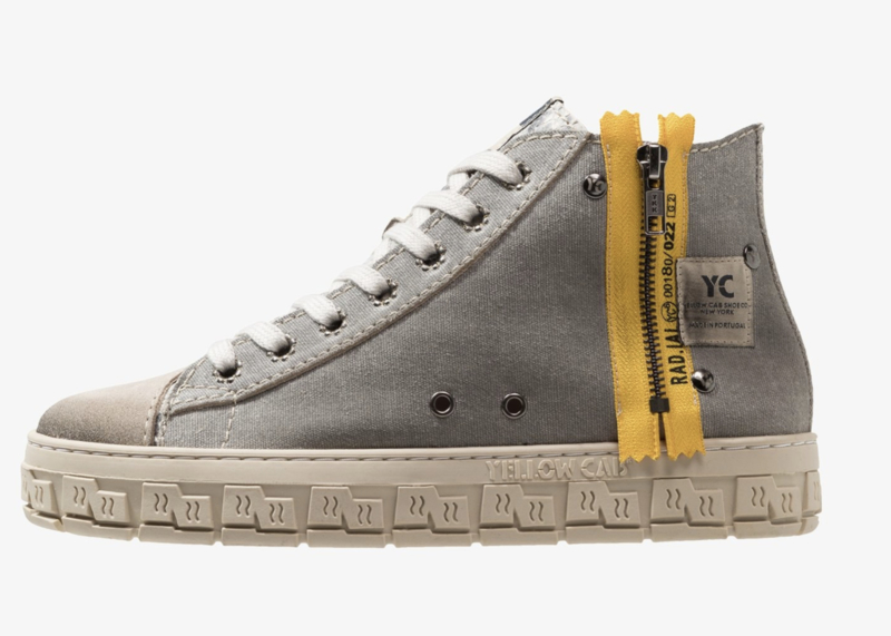 Yellow Cab Check grey
