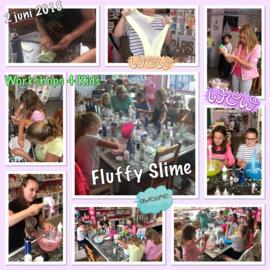 Fluffy slijm maken 1 augustus van 13.30 uur tot 14.30 uur