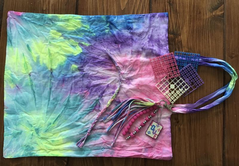 Tie-Dye je eigen gymtas vrijdag 28 augustus 10:00 - 11.30 uur
