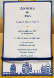 Maastricht, Amsterdam en Willemstad