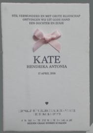 oudhollands met roze strikje