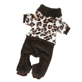 O Lala Pets Sweatsuit Persian brown