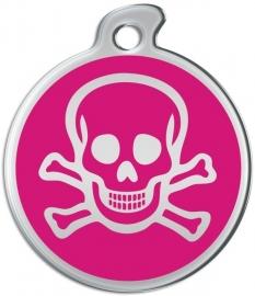 Misstoro penning Skull and Bones Razzmatazz Pink