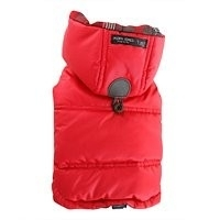 Puppy Angel Portobello road padded vest, rood