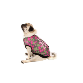 I Love My Dog Honden sweatshirt Camu Pink