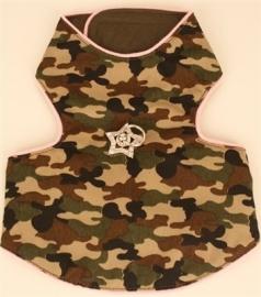 Puppy Love Hondenharnasje Camouflage Pink, Maat XXS