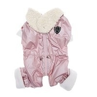 Puppy Angel Arctic monster padded overalls for girls, pink, Maat M