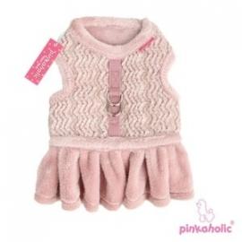 Pinkaholic Bucatini Flirt Harness, roze Maat S