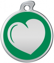 Misstoro penning Loving Heart Fun Green