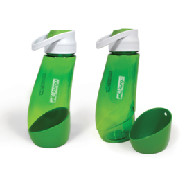 Kurgo Gourd H2O Bottle & Bow Groen
