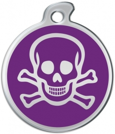 Misstoro penning Skull and Bones Seance Purple