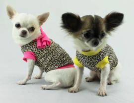 Lella Su honden Tshirt Ghepard, Pink