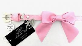 Trilly tutti Brilli Hondenhalsband Tina, Roze, Maat 25 cm