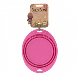 Beco Travel Bowl Medium, Pink
