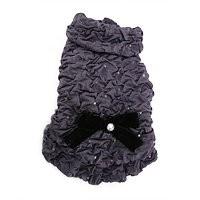 Puppy Angel Ruffles Glamour coat, grijs, Maat L